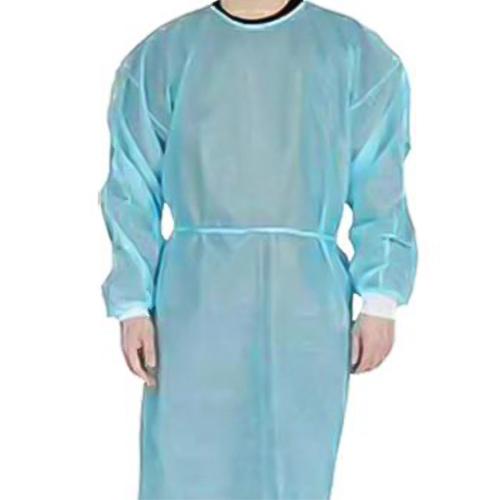 一次性蓝色手术服(有袖口)