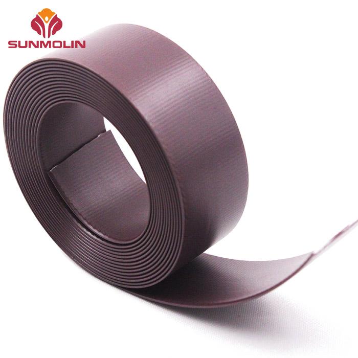 Soft matte TPU coated webbing belt for bag strap