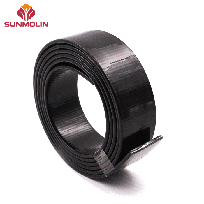 Glossy 26mm wide TPU coated polyester webbing