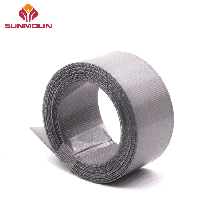 Grey TPU coated webbing strap
