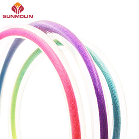 Colorful wholesale waterproof TPU coated rope supplier