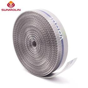 Thin custom matte waterproof TPU coated webbing belts
