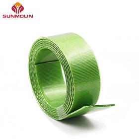 Green thin waterproof webbing belt