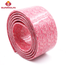Pink waterproof plastic coated webbing wholesale