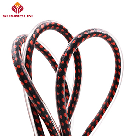 Colored TPU coated rope for outdoor furniture