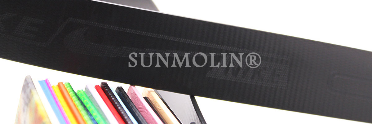 logo engraved webbing