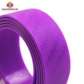 fluorescent purple coated webbing
