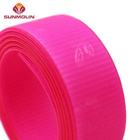 fluorescent pink tpu coated webbing
