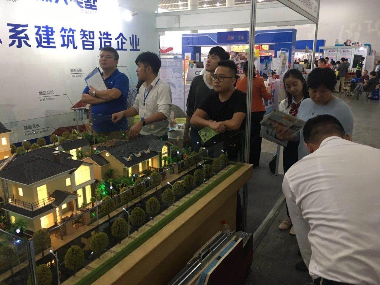 2018惠州旅游文化博覽會完美落幕,順大美墅大放異彩
