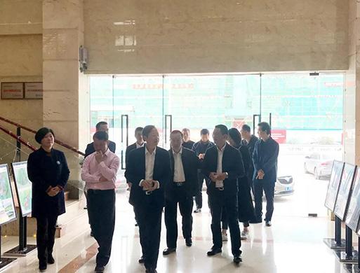 惠州市市委常委、统战部部长王开洲一行莅临顺大建设集团调研指导!