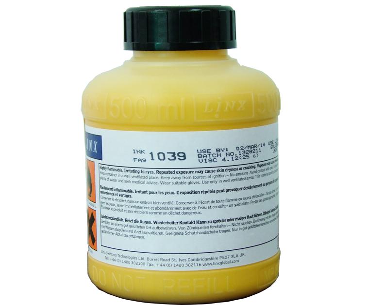 LINX 1039黄墨
