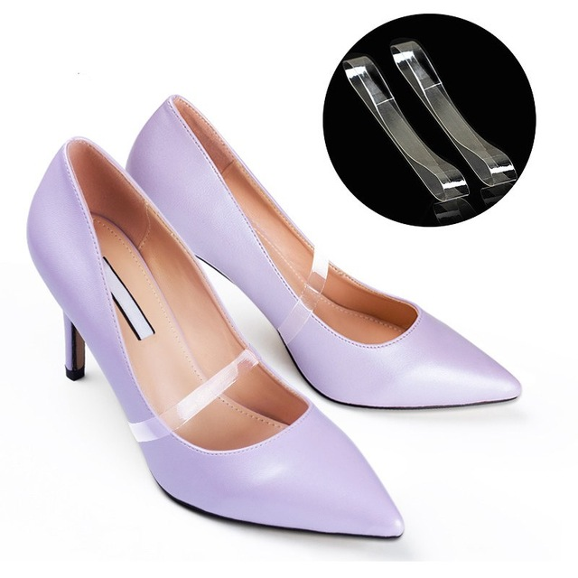 高跟鞋TPU隐形横梁鞋带
