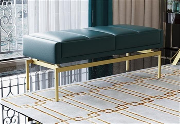 床尾凳-普及度并不算高但实用性毋庸置疑的酒店卧室床尾凳-鑫广意家具厂