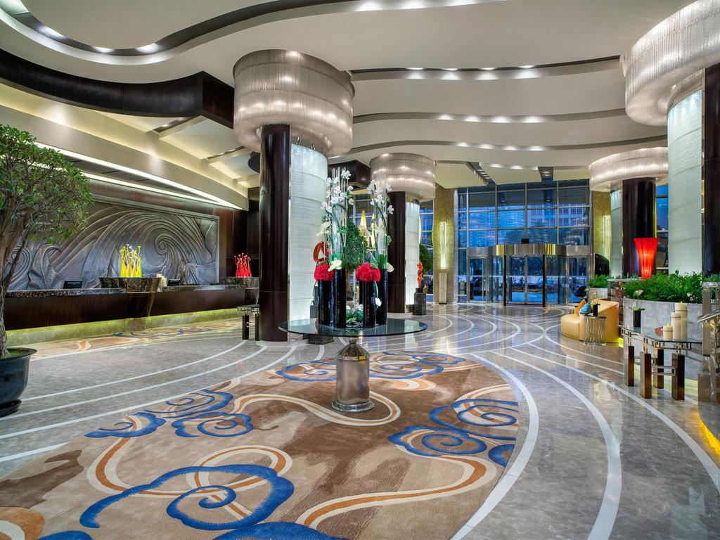 酒店家具定制现代简约风格材质优异色彩大胆从整体到局部显示不凡的审美-鑫广意
