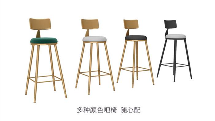 不锈钢酒吧桌椅符合消费者的审美观良好的制作工艺和周到的售后服务