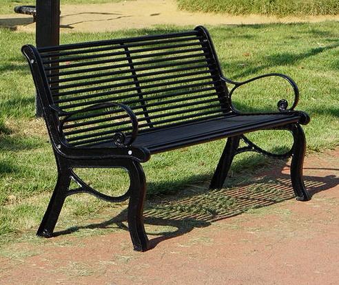 不銹鋼公園長椅