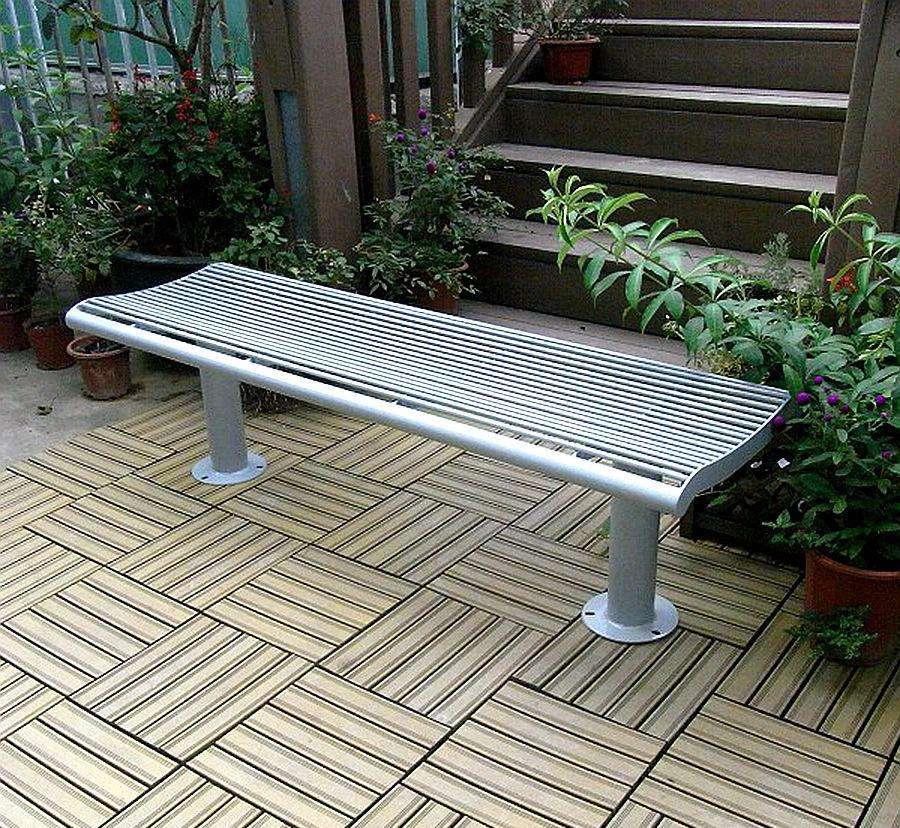 五金公园长椅|让人们在出行时快意休憩+滋生对自然之美的永恒追求|鑫广意