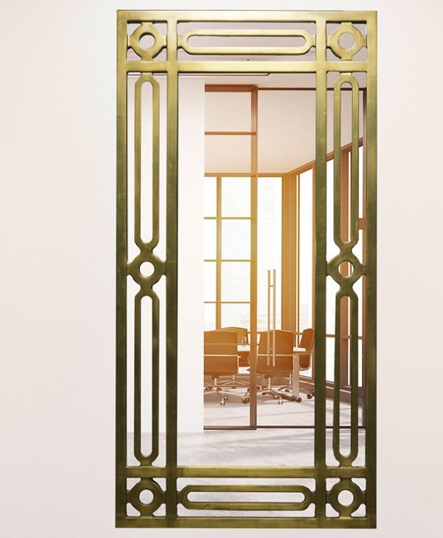 浴室镜框主打文化内涵本身充满高贵质感体现功能性和点缀性相结合/鑫广意