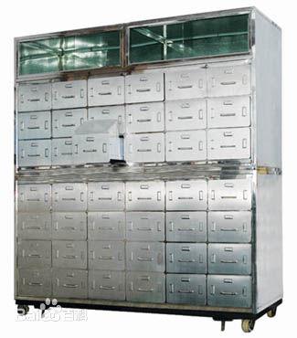 钢制中草药柜药店柜子鑫广意携手白衣天使为人们的健康保驾护航