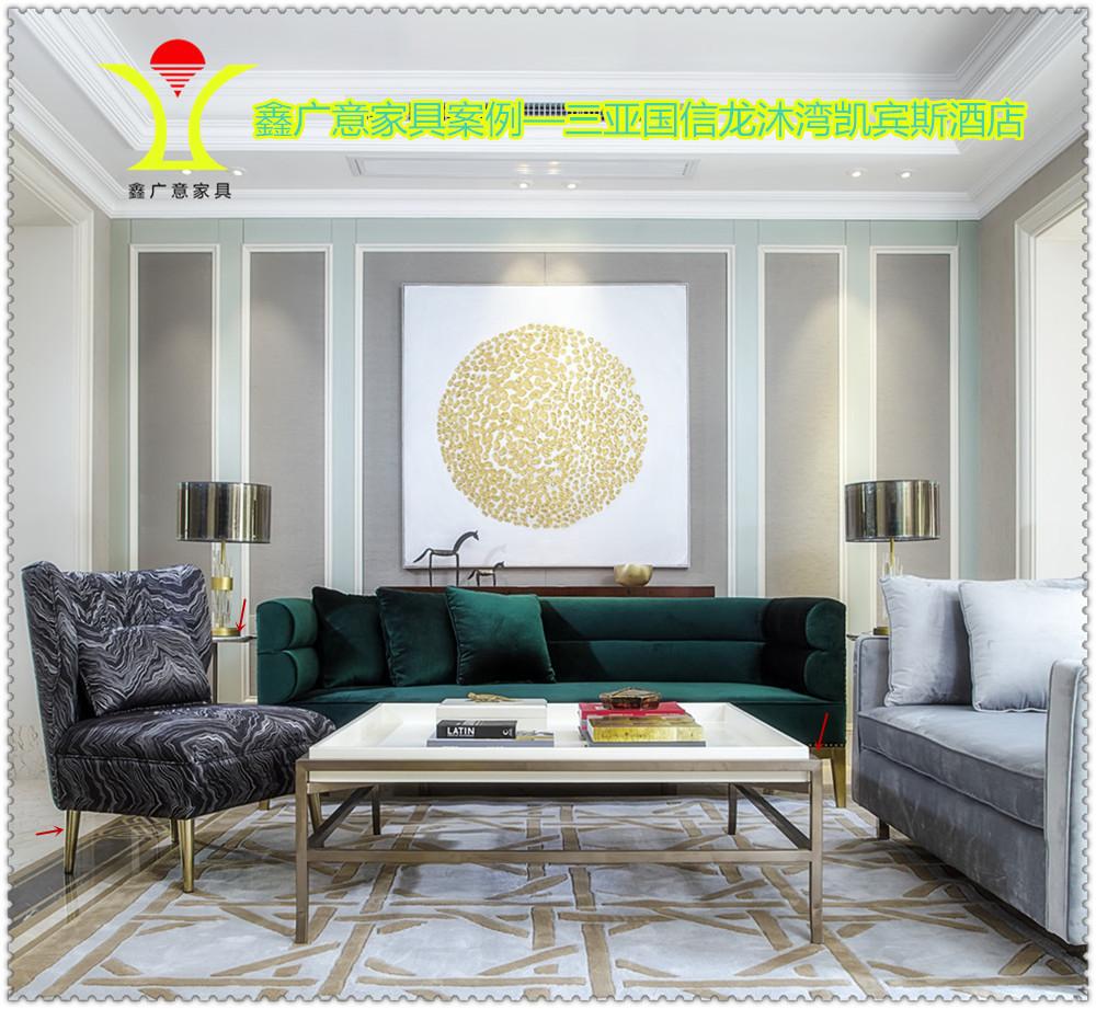 鑫广意不锈钢加工11年酒店工程经验,钢制家私远销海外久负盛名