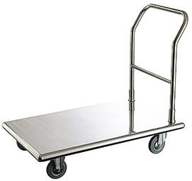 不銹鋼行李推車