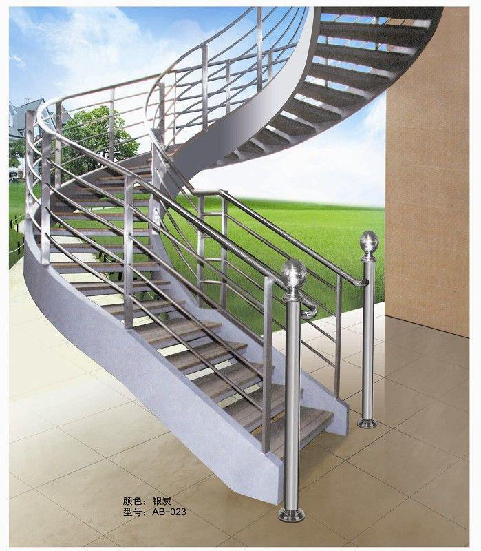 钢楼梯立柱【鑫广意】结合强度高有良好的机械性能很适合用在大型购物中心
