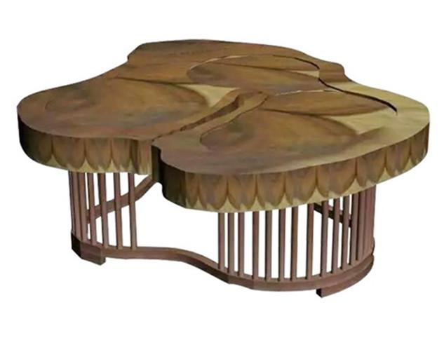 异形不锈钢茶几角几【鑫广意】提炼传统不锈钢家具中的经典元素杂糅进现代化家具定制设计理念