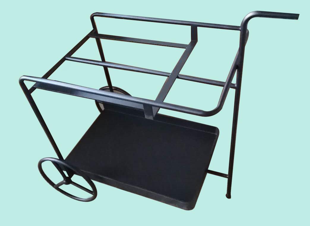酒店家具【鑫广意】金属行李车小巧轻便一物多用途工艺精细质量保证