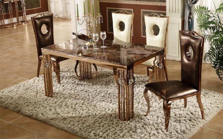 金屬餐桌椅《鑫廣意》精致而不失內斂狂野而又不失格調