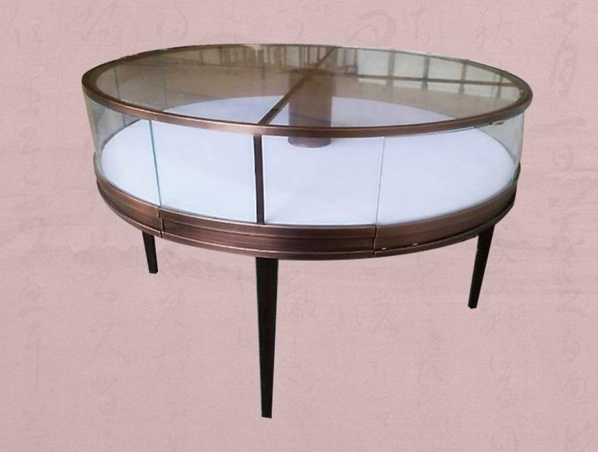 金属首饰柜由鑫广意钢制家具厂采用繁复的流线造型制作而成难度高工艺复杂