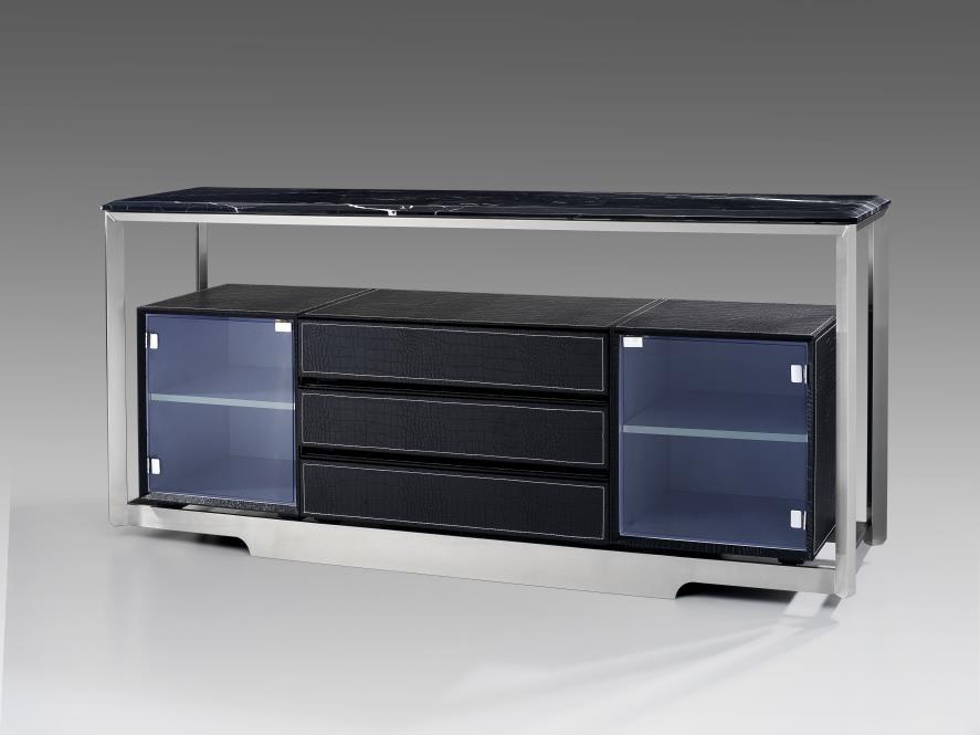 鑫廣意賓館電視柜略顯莊重更加凸顯投影的方向的視覺集中性來塑造極致的視覺聽覺的體驗
