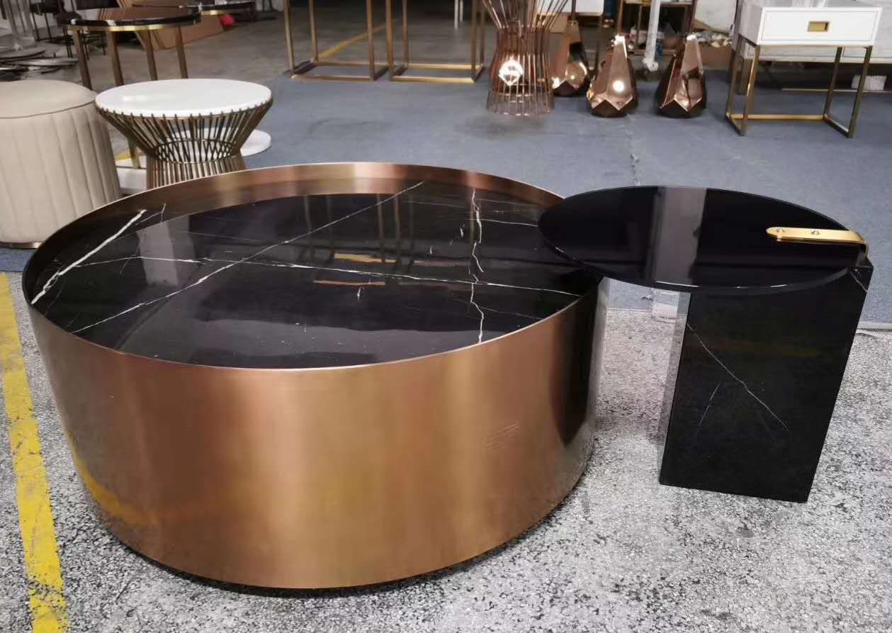 不锈钢茶几厂家鑫广意的功能性兼装饰性的茶桌为空间增添更多趣味和变化