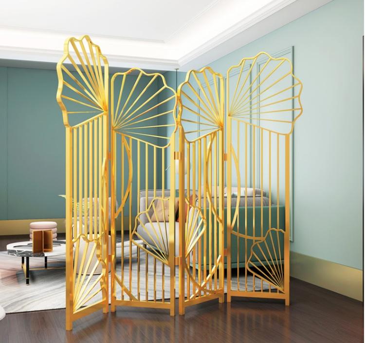 鋼制家具屏風{鑫廣意}款式設計典雅時尚往往比其它家具更加有魅力吸引人的視線