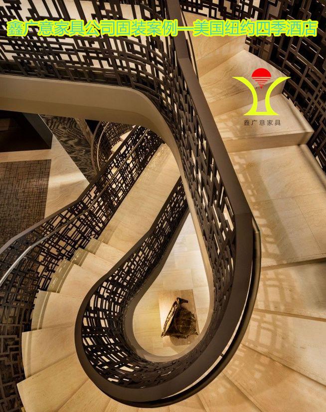 鑫廣意不銹鋼樓梯能經受烈火考驗讓損失減到最小程度防潮的特點最適合南方地區