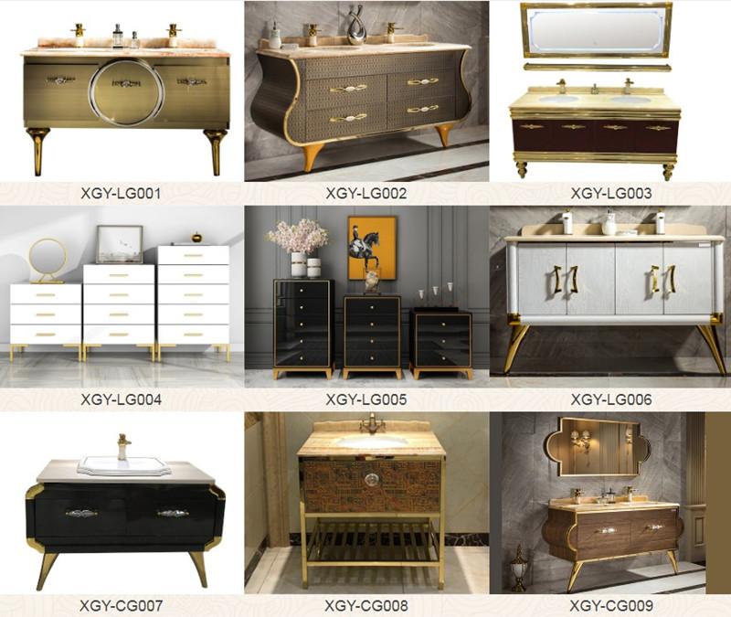 不锈钢家具浴室柜经由具有工匠风范的设计师倾力打造让浴室空间焕发光彩吸粉无数