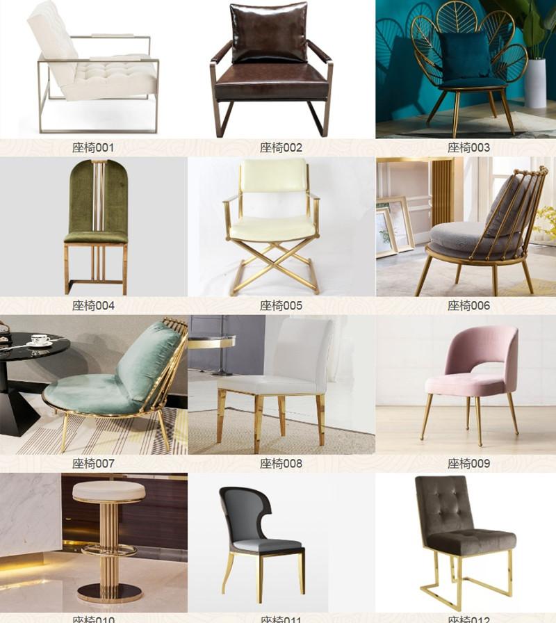 鑫广意不锈钢家具厂推出其蓄力了两年的长凳材料应用设计成果可以电镀出迷幻的彩虹色