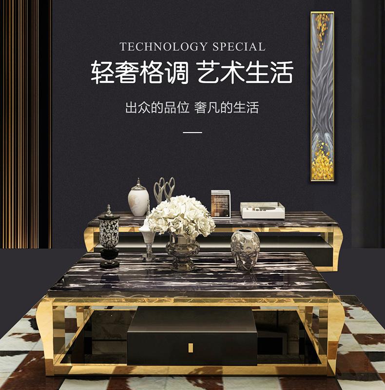 崭露头角的鑫广意不锈钢家具融中西古典神韵于貌似粗犷的风格之中典雅古朴又不失现代气息