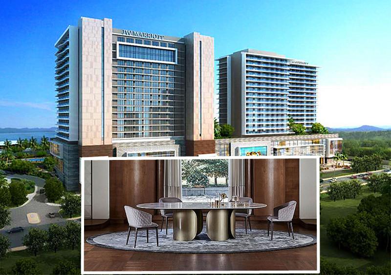 酒店家具定做厂家鑫广意的责任是倾力打造整体解决方案让效果图精彩呈现