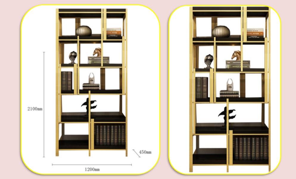鑫广意不锈钢家具对于崇尚自然人士来说是优先选择展柜能够使人稳定情绪