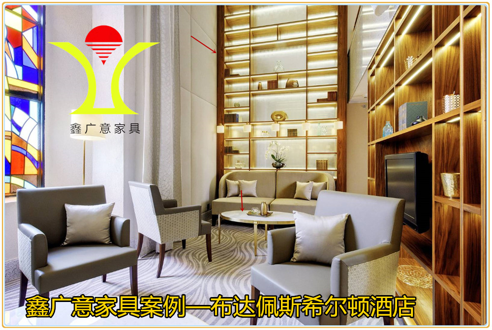 在酒店家具訂做設計中鑫廣意倡導一體化的整體設計概念將地域文化融入到產品中