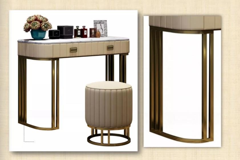 不锈钢家具柔和的色调使人倍感轻松鑫广意给用户这里更多的可能性