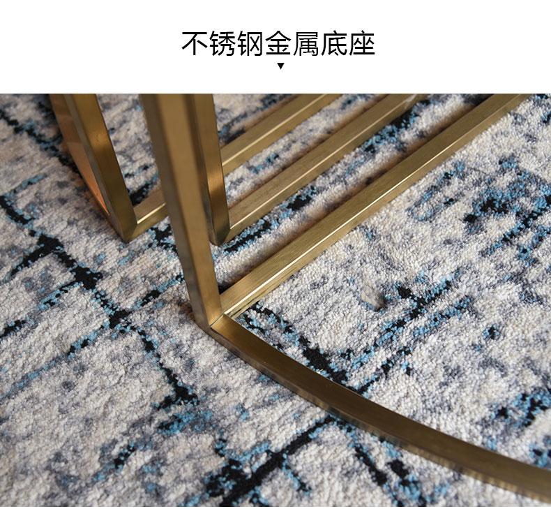 光影之下家具五金配件的幾何線條使裝修簡凈基調添上一抹流動意蘊-鑫廣意