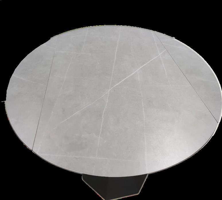 【现货销售】岩板餐桌|桌腿是高级的钢材工艺精湛材料贵质感好做工精细强度高耐1200度高温
