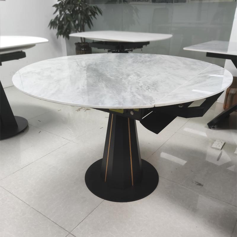 鑫广意岩板餐桌生产厂将永无止境探索设计的精神传承至今