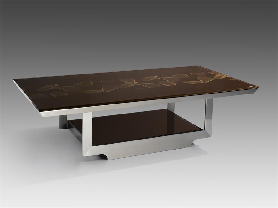 不锈钢电视柜随着时代的发展越来越多的新材料新工艺用在了鑫广意电视柜
