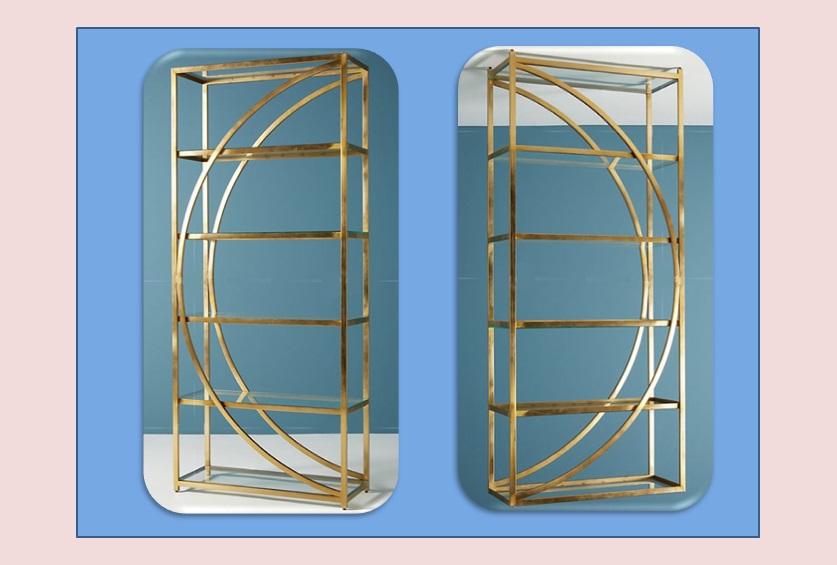 不銹鋼展示柜的美麗造型由消費者來參與設計鑫廣意可以創造美