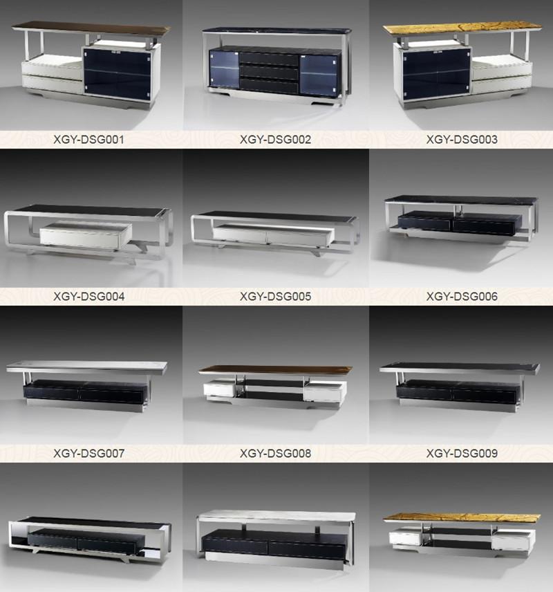 不锈钢电视柜耐高温并且容易清理呈现出迷人装饰性有不少忠实粉丝-鑫广意