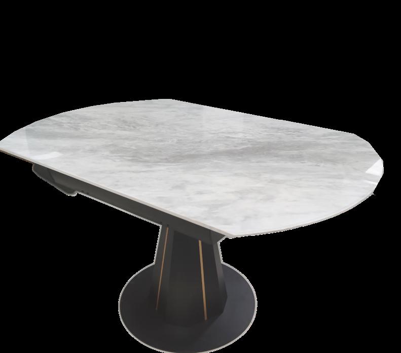 鑫广意不锈钢岩板餐桌椅看似简单无奇却蕴藏深意都市中的人群打造新的生活方式