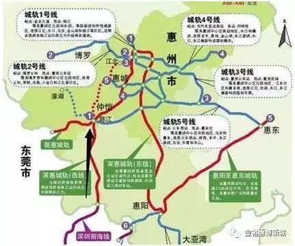 """惠州交通建設""""開掛"""",小金口亮了!"""