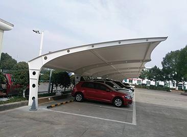膜结构停车棚使用特点
